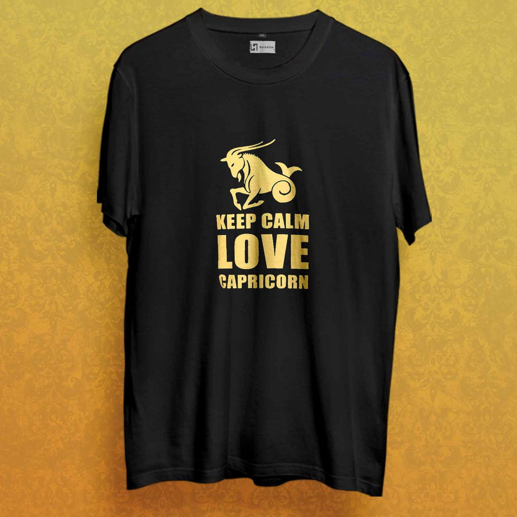 Love Capricorn T shirt - Haanum-Express Yourself!