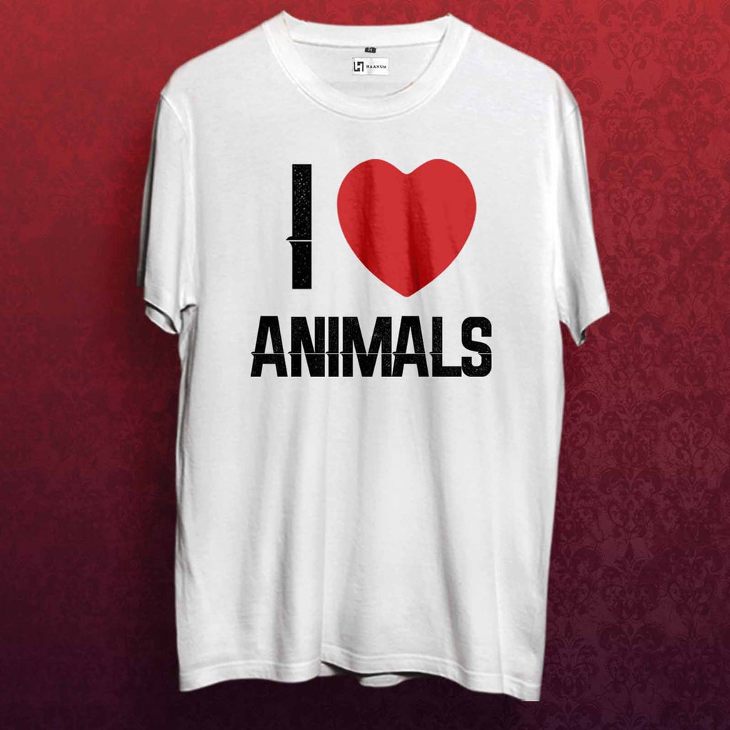 Love All Animals T shirt - Haanum-Express Yourself!
