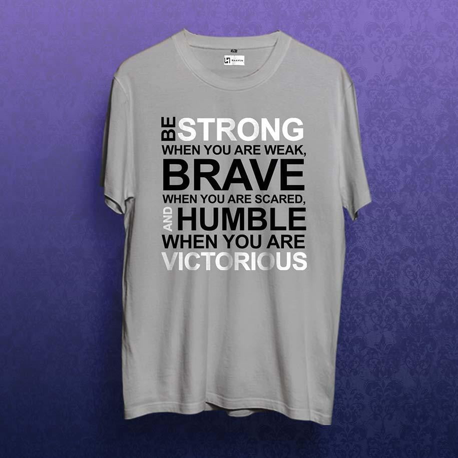 Strong, Brave & Humble