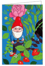 Garden Gnomes Notecard Box