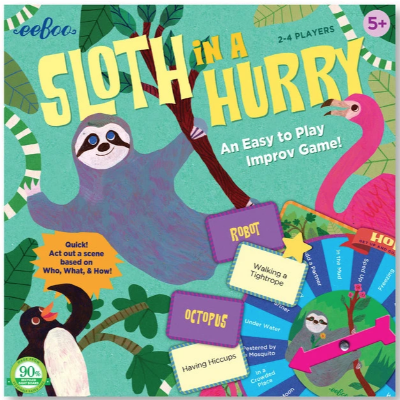 """Sloth in a Hurry"" Improv Game!"