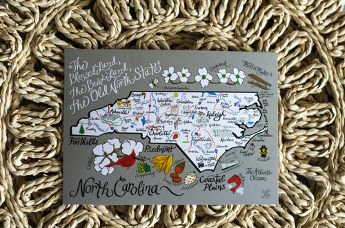 Emily Brooks 5x7 North Carolina Print