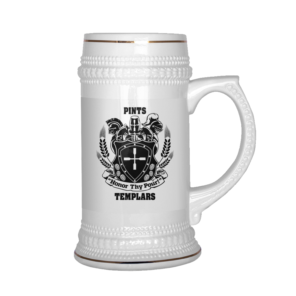 PT Gear - New Product: The Templars Stein!