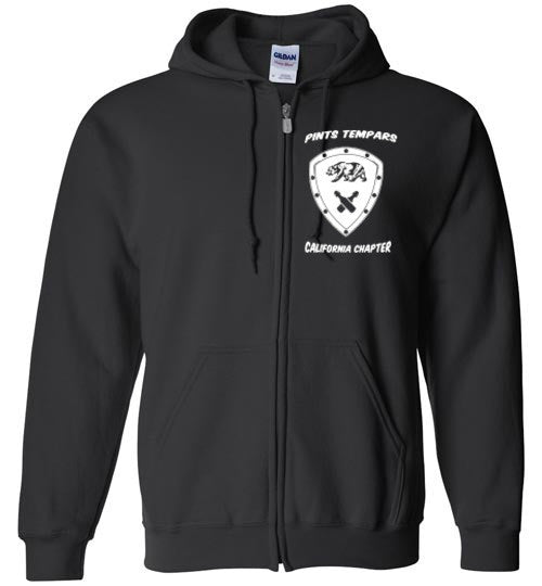 California Chapter Zip Up Hoodie