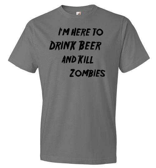 Drink Beer and Kill Zombies