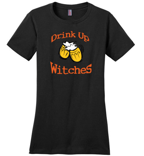 Women's Drink up Witches T