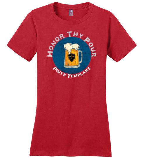 Honor Thy Pour Tee - Womens