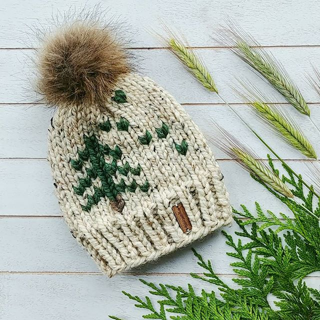 Baby Coastal Forest Toque