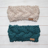 Adult Cable Knit Headband/Ear Warmer