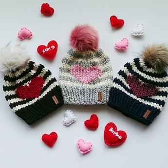 Baby Happy Heart Toque
