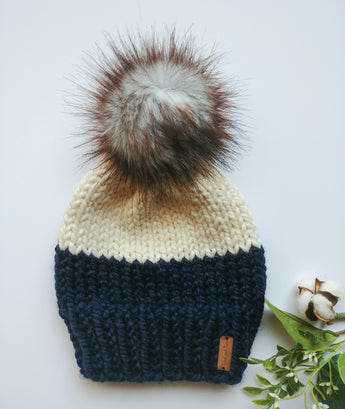Baby Colour Block Toque