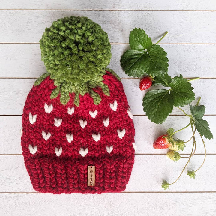 Adult Strawberry Toque