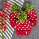 Child Wild Strawberry Toque