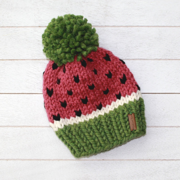 Adult Watermelon Toque