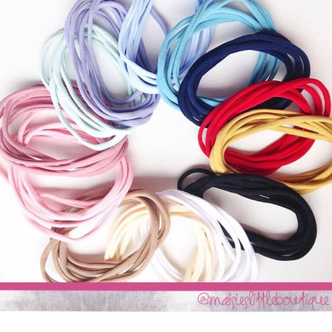 Interchangeable headbands