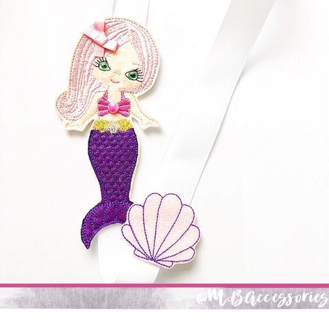 Mermaid bow holder