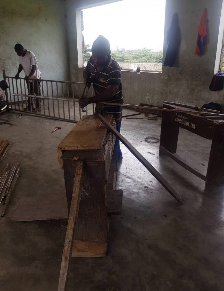 THE WORKS HAVE COMMENCED IN THE ORILE IGANMU, COKER SCHOOLS GOVERNMENT COMPLEX