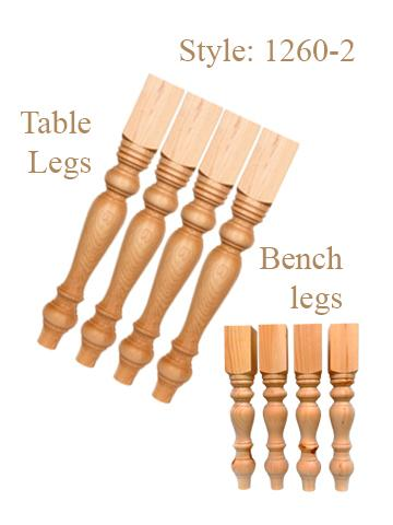 Table legs & Bench Legs