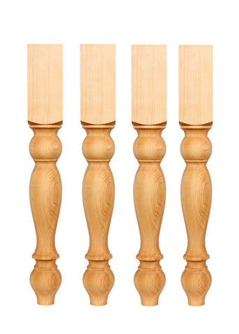 Set of four Dining Table Legs