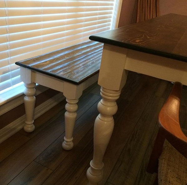 Unfinished Pine Table Legs - Set of Four
