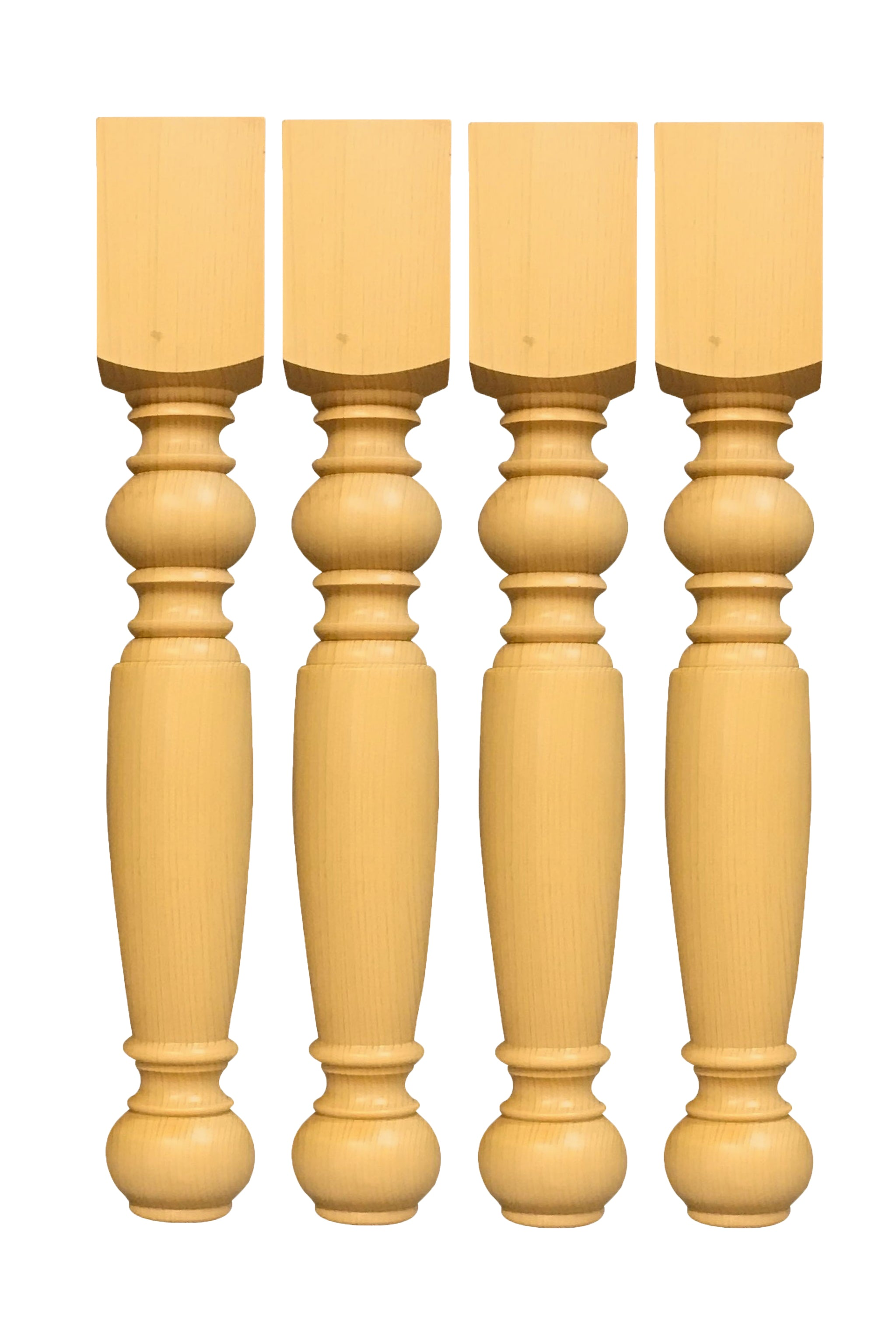 29 Unfinished Solid Knotty Pine Dining Table Legs Style Tl 1243 Tablelegssite Com