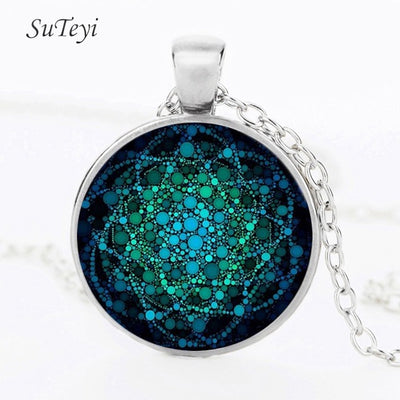 Flower of Life Necklace - Yoga Chakra