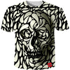 Cloudstyle Men's Skull Printed T Shirts