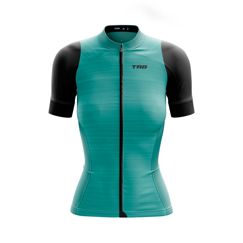 Camiseta Ciclismo Mujer Torralba ELITE XR5 LIGHT BLUE