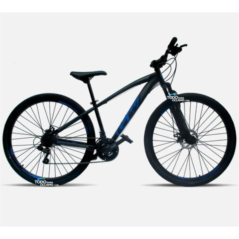 Bicicleta Gw Atlas Rin 29 Integrados 7V Suspension de rebote