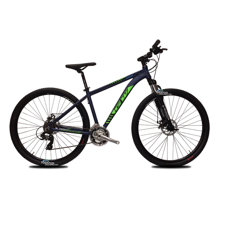 Bicicleta Gw Zebra 2020 Integrados Rin 29 7v Suspension de rebote