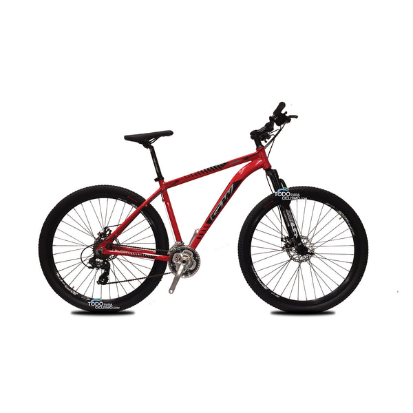Bicicleta Gw Zebra 2021 Integrados Rin 29 7v Suspension de bloqueo