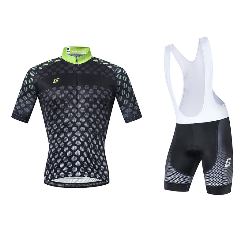 Uniforme Ciclismo Gcorpro Black Shell - Cheetah