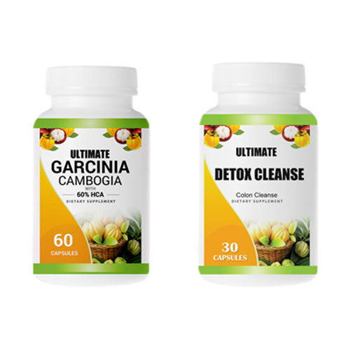 Ultimate Garcinia and Detox Cleanse 1 Month Combo