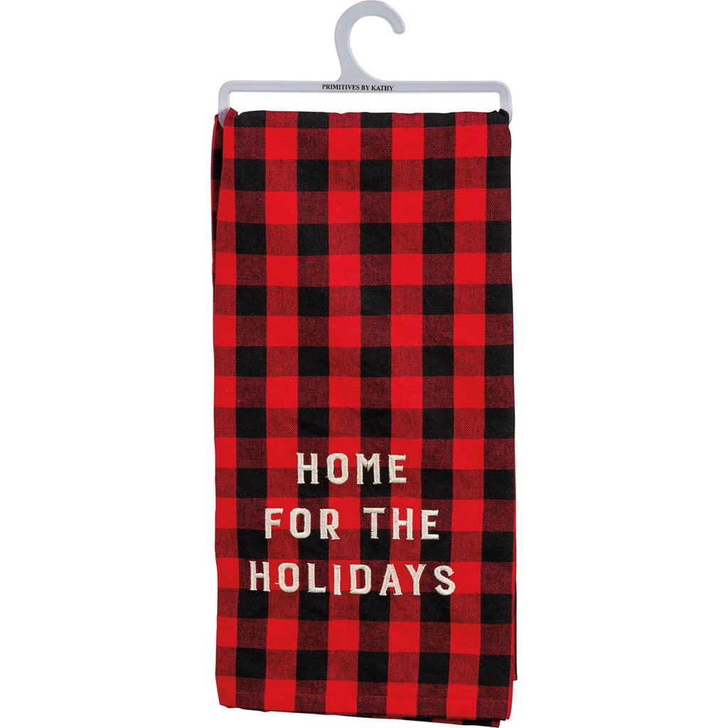 Home for The Holidays Cup Towel