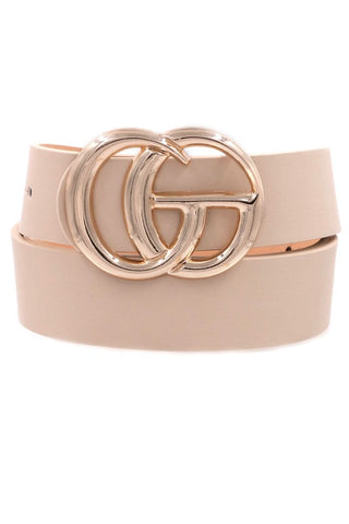 Metal Ring Belt -O/S  (2 colors)