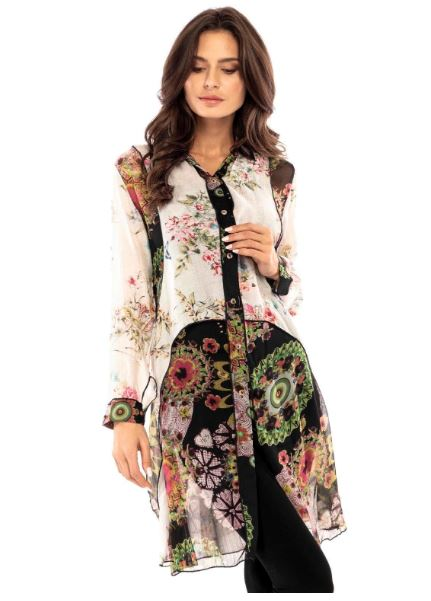 FLORAL LAYERED TUNIC