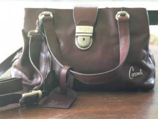 Consuela Chocolate Handbag
