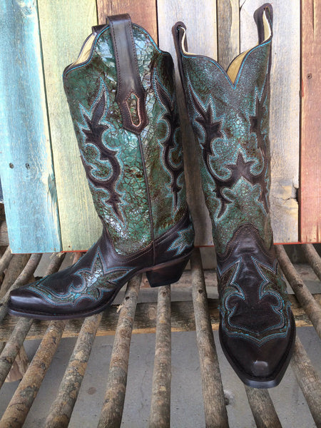 Corral R1178 LD Turquoise