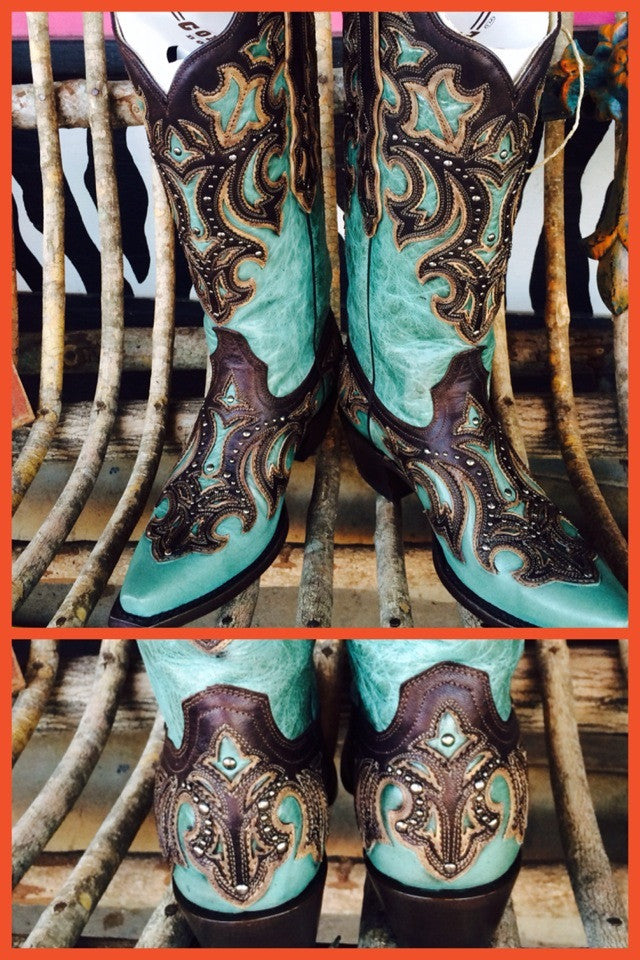 Corral G1184 LD Turquoise
