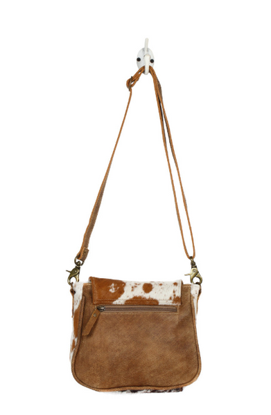 Myra Bag Flap Over Hairon Small Crossbody