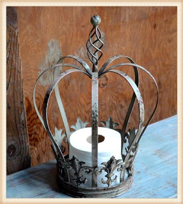 Spiral Top Crown-Home Decor.