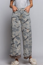 Grey Camoflage Pants