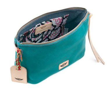 Consuela Guadalupe Pouch inside
