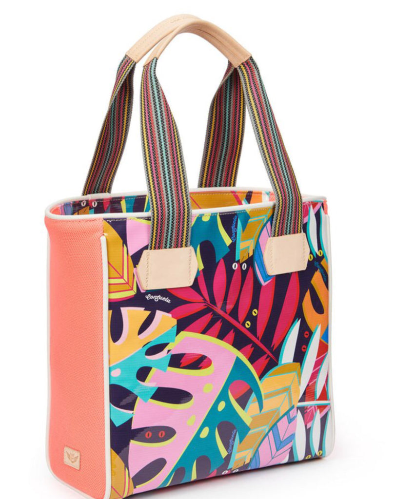 Classic Tote Coral Tropical