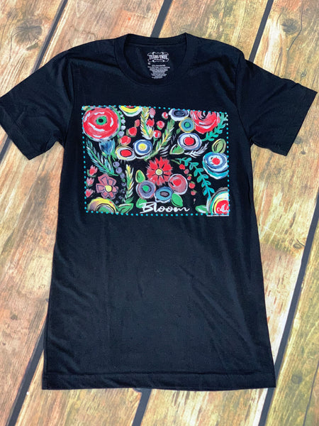 Bloom Art T Shirt