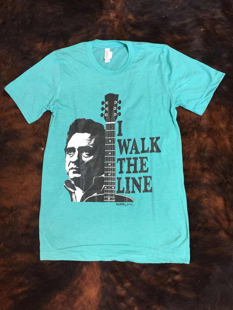 """I Walk The Line"" T Shirt"