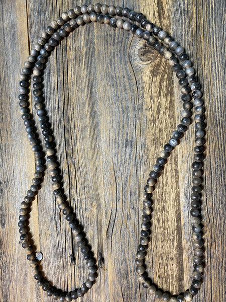 Teakwood Bead Necklace