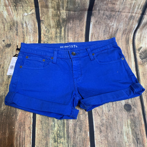 Big Star Blue Shorts