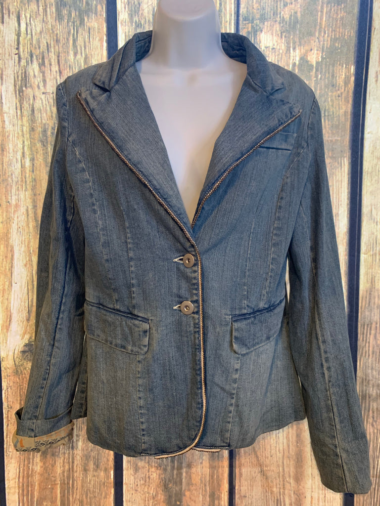 Miss Me Denim Blazer