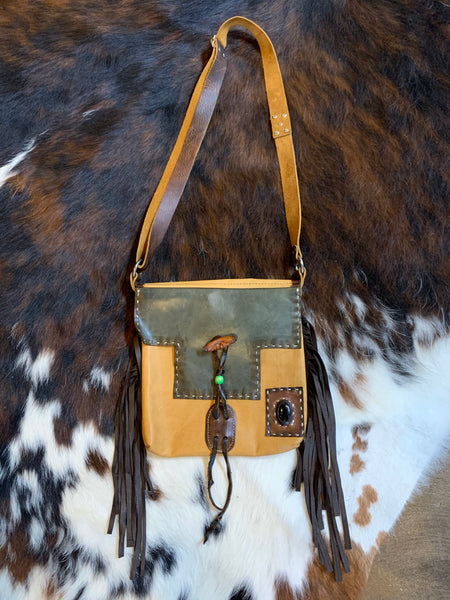 Leather Handmade Cross-body